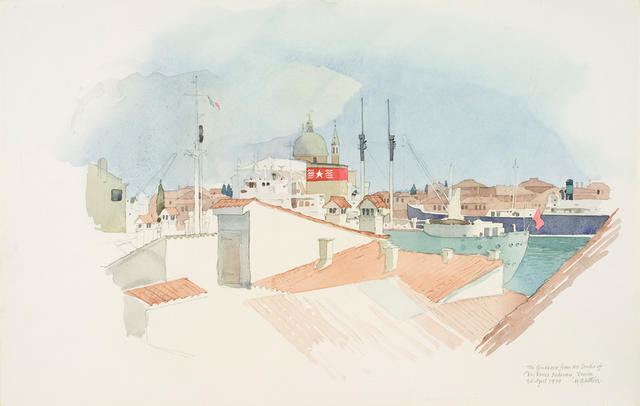The Giudecca From The Studio Of Dr Renzo Padovan, Venice 26 April 1974