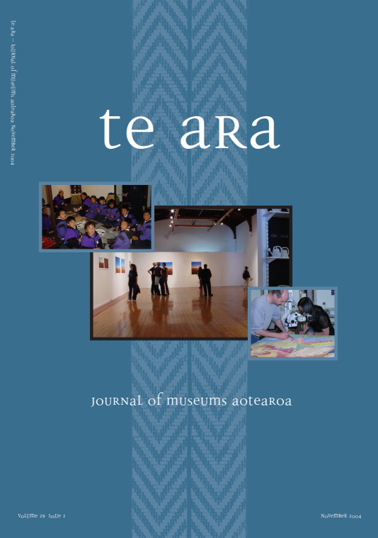 Te Ara volume 29 number 2 November 2004
