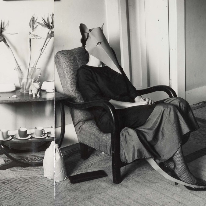 Marie Shannon The Rat in the Lounge 1985. Silver gelatin print. Courtesy of the artist