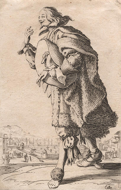 Le Gentilhomme qui Salue Tenant son Feutre Sous le Bras (The Gentleman Bowing with a Felt Hat Under his Arm), from La Noblesse de Lorraine (The Nobility of Lorraine)