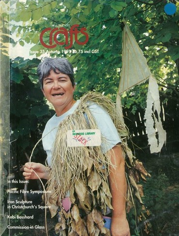 New Zealand Crafts issue 35, Autumn 1991