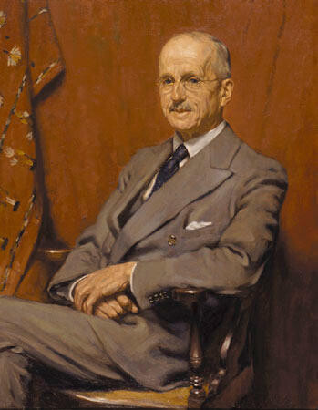 Portrait of R. E. McDougall