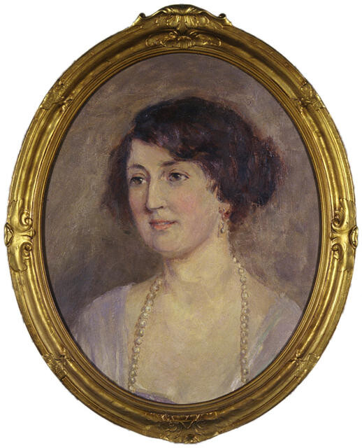 Portrait of Millicent Jennings