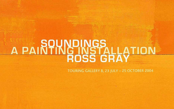 Soundings: Ross Gray