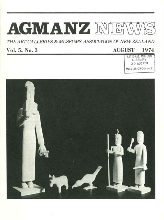 AGMANZ Volume 5 Number 3 August 1974