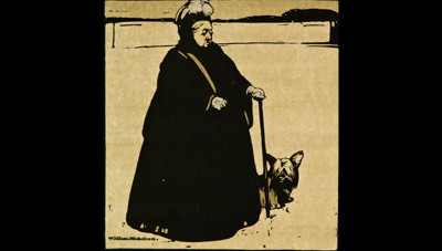 William Nicholson H.M. The Queen 1899. Lithograph. Collection of Christchurch Art Gallery Te Puna o Waiwhetū, gifted to the Gallery by Gordon H. Brown 2008