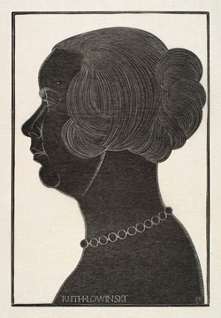 Ruth Lowinsky by Eric Gill