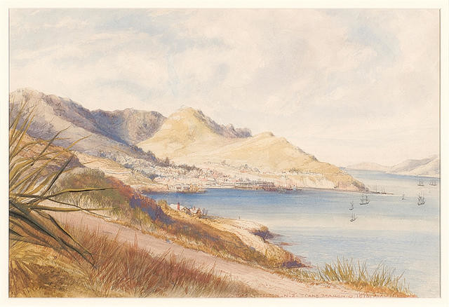 Port Lyttelton, N.Z., March 9, 1874 from Nature