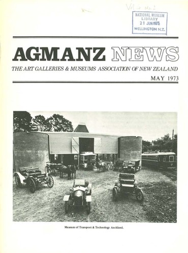 AGMANZ News Volume 4 Number 2 May 1973
