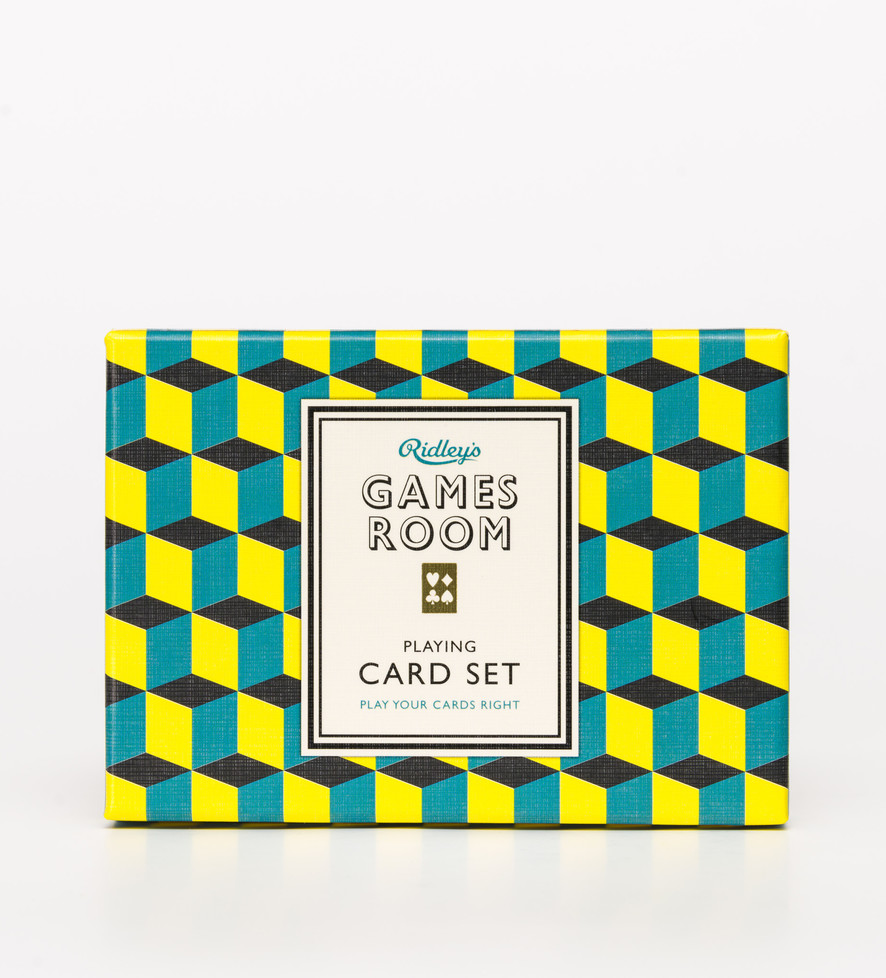 Games Room Playing Card Set
