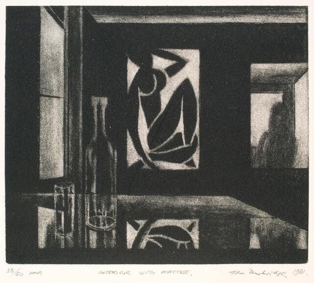 Interior with Matisse