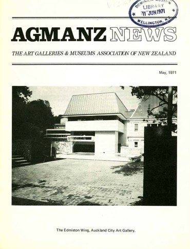 AGMANZ News Volume 2 Number 9 May 1971