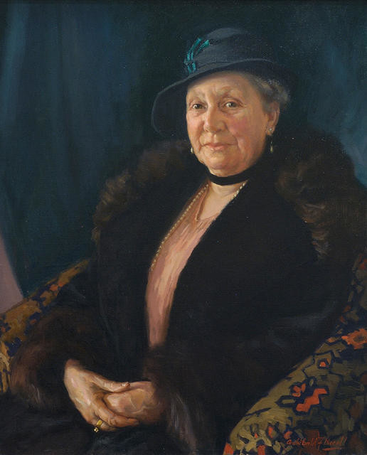 Portrait of Mrs J. D. Familton