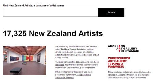 Every New Zealand artist ever - seriously! | Christchurch Art