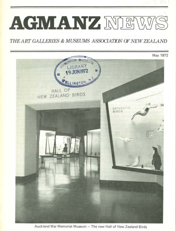 AGMANZ News Volume 3 Number 1 May 1972
