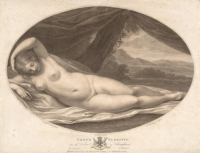 Venus Sleeping (In The Cabinet At Houghton)