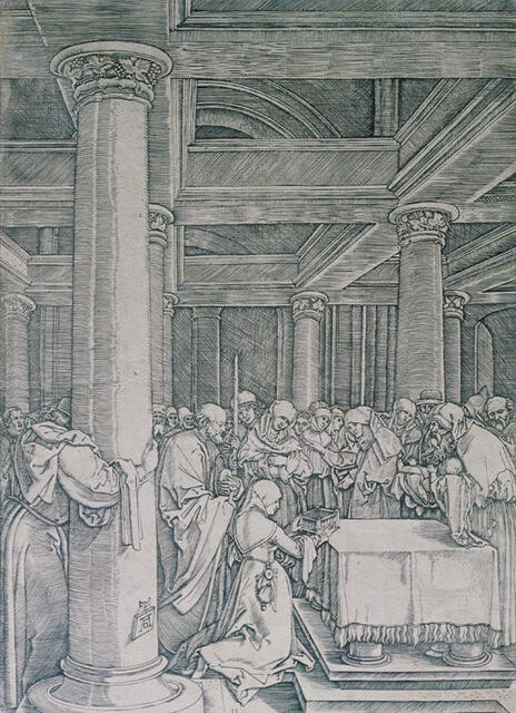 The Presentation of Christ in the Temple, from The Life of the Virgin, after Albrecht Dürer