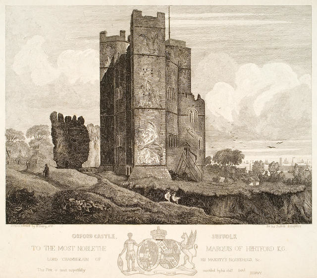 Orford Castle, Suffolk