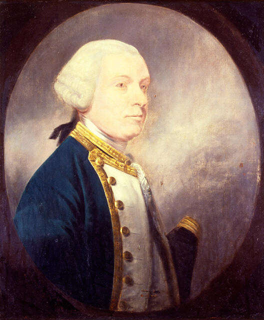 Vice Admiral Robert Duff died 1787
