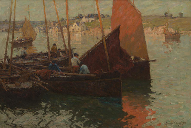 Evening, Concarneau