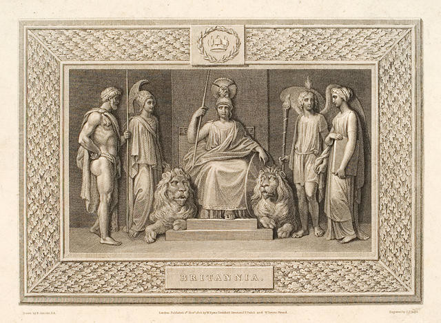 Britannia enthroned