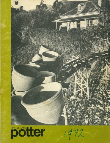 New Zealand Potter volume 14 number 1, Autumn 1972