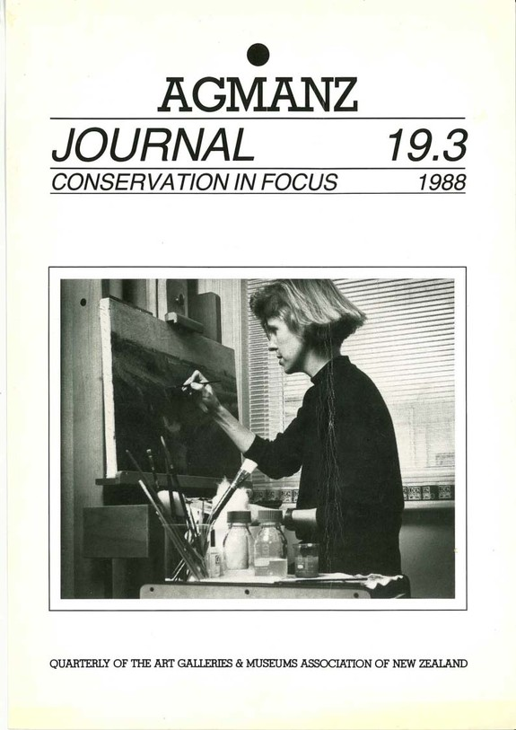 AGMANZ Journal Volume 19 Number 3 1988