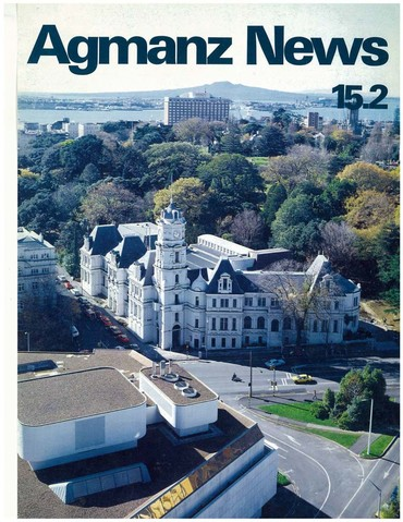 AGMANZ News Volume 15 Number 2 June 1984