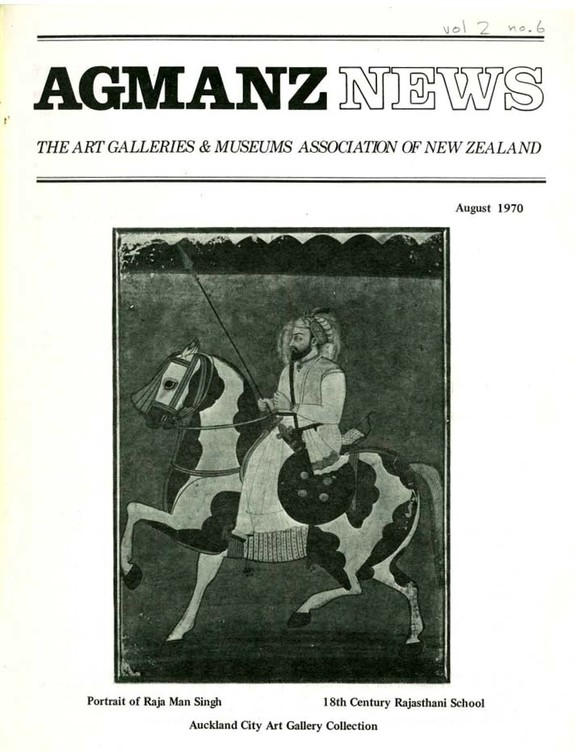 AGMANZ News Volume 2 Number 6 August 1970