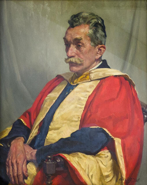 Portrait of Dr John Christopher Bradshaw