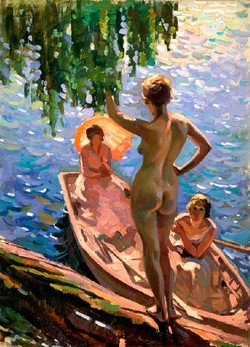 Summer Morn by Evelyn Page