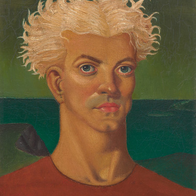 Leo Bensemann St Olaf c.1937. Oil on canvas on board. Collection of Christchurch Art Gallery Te Puna o Waiwhetu, Lawrence Baigent / Robert Erwin Bequest 2003. Reproduced with permission