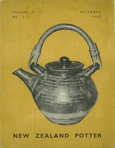 New Zealand Potter volume 5 number 2, December 1962