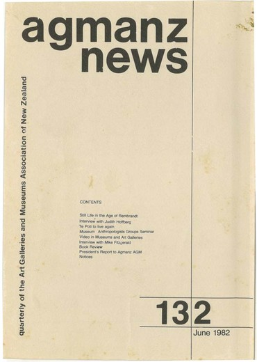 AGMANZ News Volume 13 Number 2 June 1982