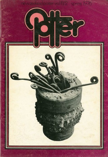 New Zealand Potter volume 18 number 2, Spring 1976