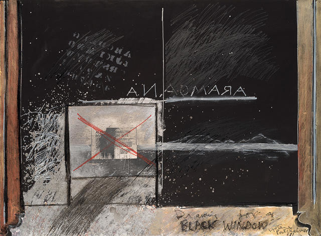 Aramoana  - Drawing for a Black Window