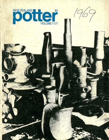 New Zealand Potter volume 11 number 1, Autumn 1969