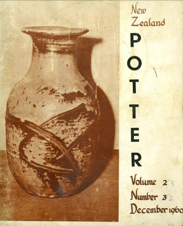 New Zealand Potter volume 3 number 2, December 1960