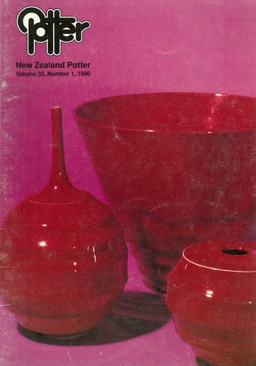 New Zealand Potter volume 32 number 1, 1990