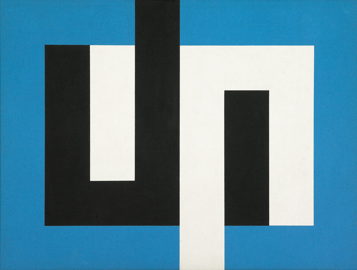 Gordon Walters Painting J 1974. Acrylic on canvas. Museum of New Zealand Te Papa Tongarewa. Courtesy of the Gordon Walters Estate