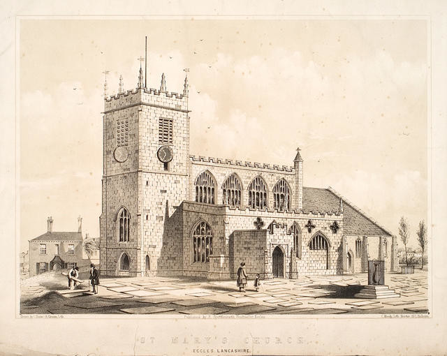 St Mary's Church Eccles Lancashire