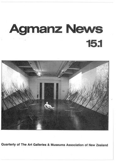 AGMANZ News Volume 15 Number 1 March 1984