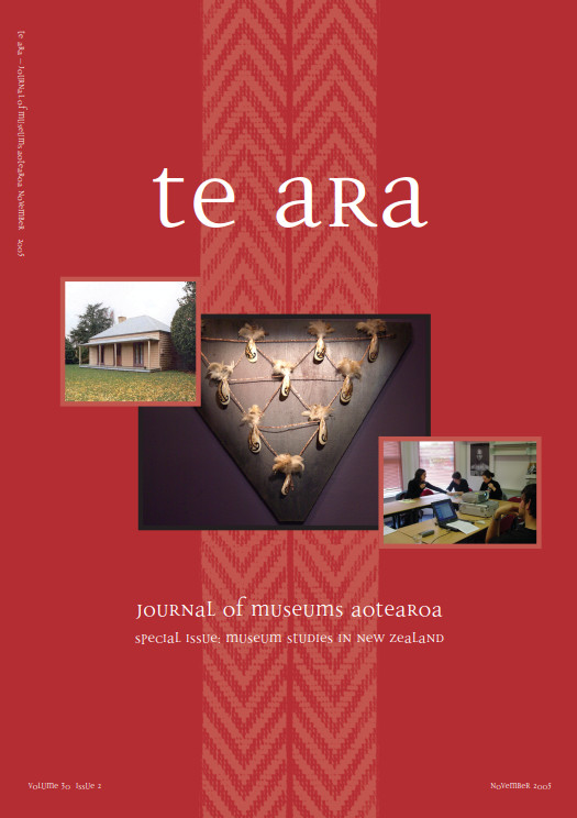 Te Ara volume 30 number 2 November 2005