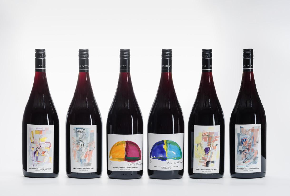 Greystone Wines x Christchurch Art Gallery Te Puna o Waiwhetū Art Wine