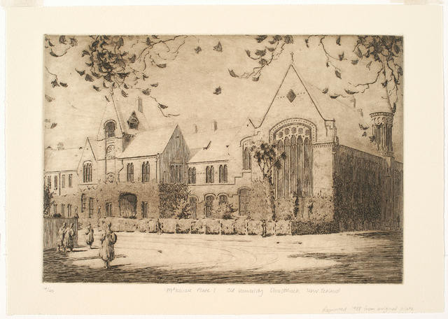 Untitled (Clock Tower And Great Hall)