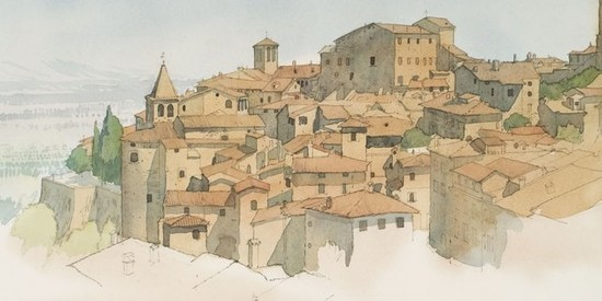 W.A. Sutton: Watercolours of Italy