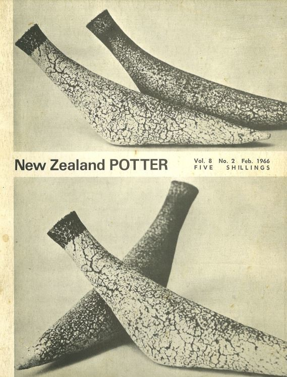 New Zealand Potter volume 8 number 2, February 1966