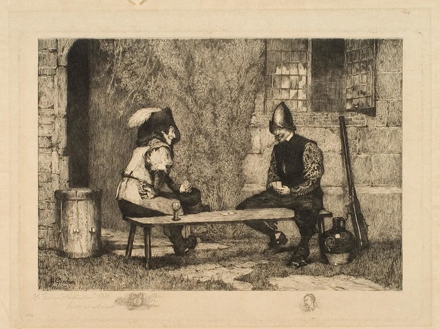 The Cardplayers, 1881