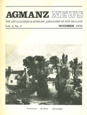 AGMANZ News Volume 4 Number 4 November 1973