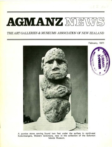 AGMANZ News Volume 2 Number 8 February 1971
